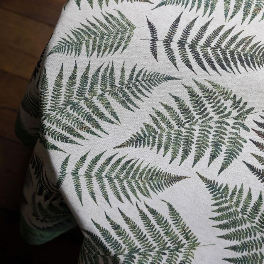 "Tablecloth ""Fern leaves"""
